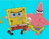 Spongebob and Patric in action Spongyabob j�t�kok